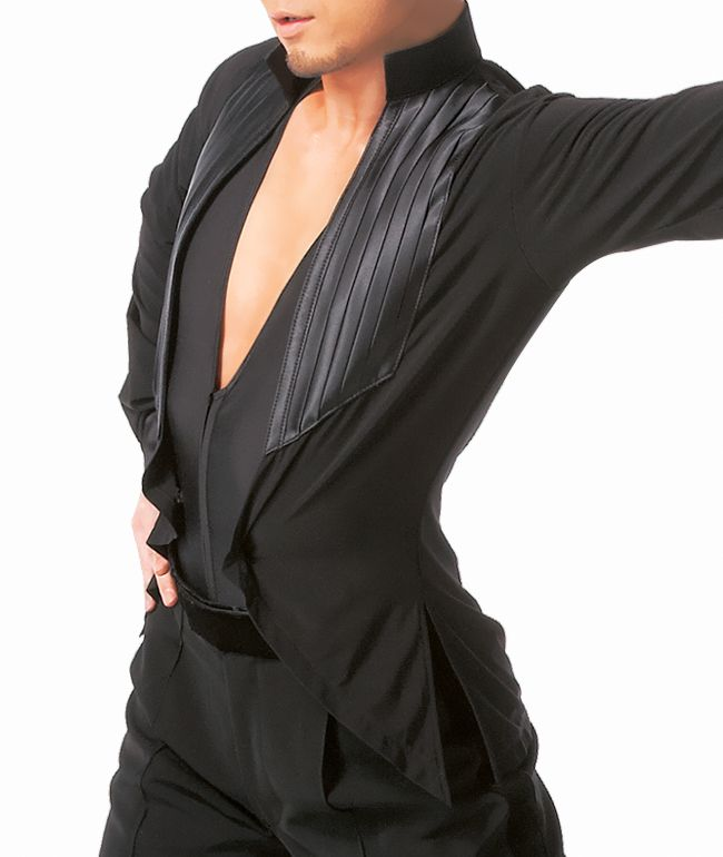 Taka Mens Latin Dance Shirt MS225AJ | Dancesport Fashion @ DanceShopper.com