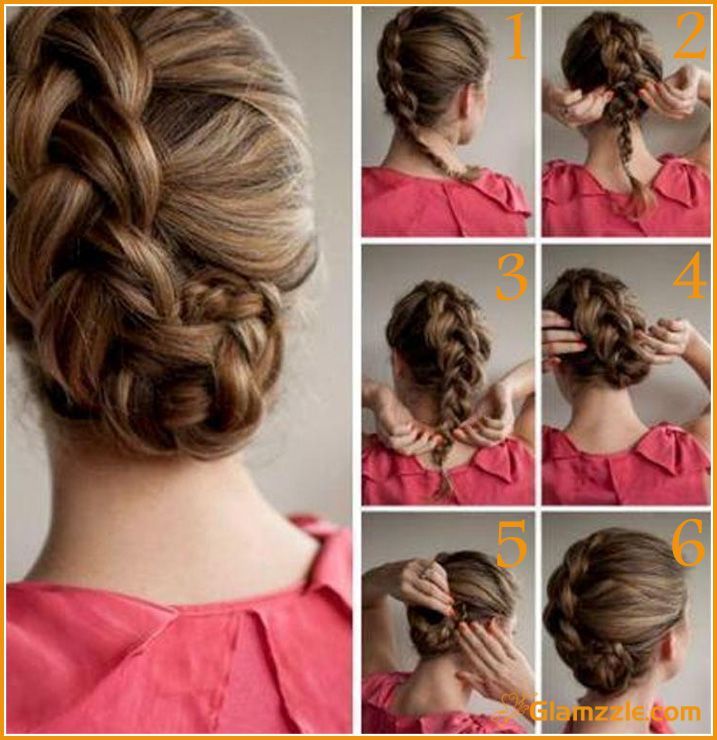 253 best Step by step hairstyles images on Pinterest - Fishtail Hairstyle