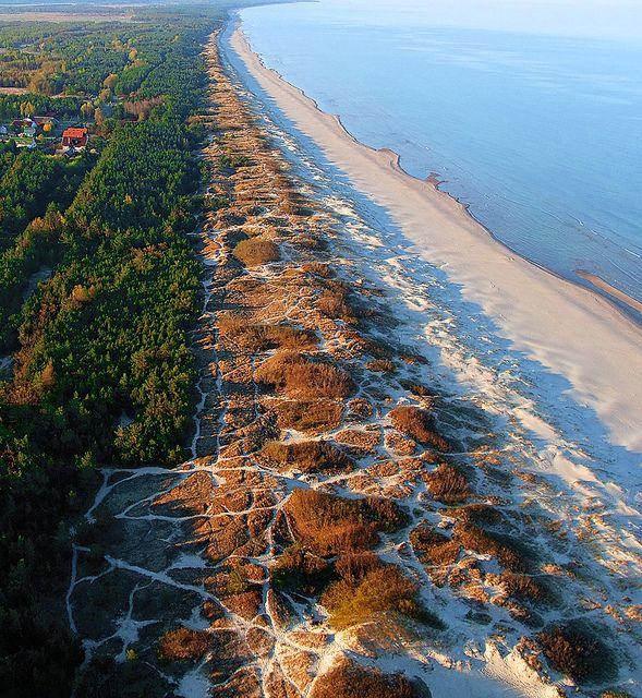 Coast of Baltic Sea by Lietuva2010, via Flickr