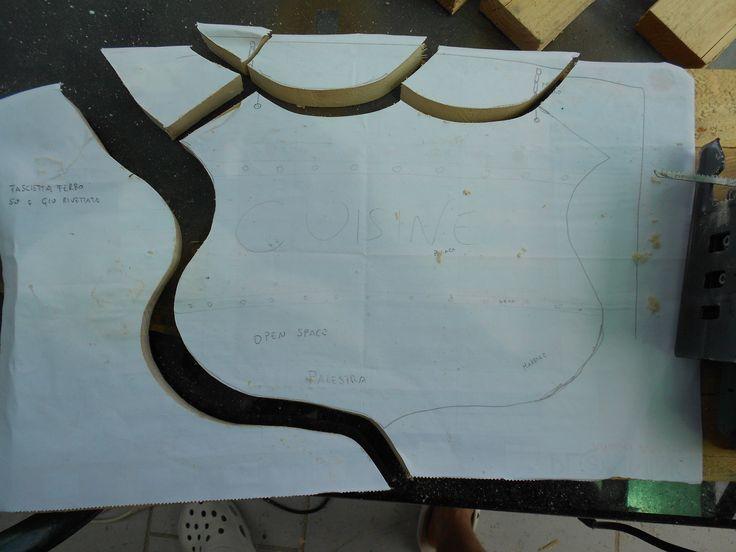 il gagliardetto prende forma
