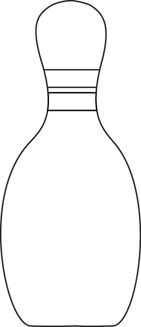 bowling pin coloring pages - photo#34