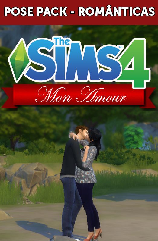 Downloaded - Nathys Sims: POSE PACK - MON AMOUR