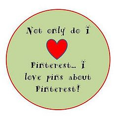 Love pins about Pinterest
