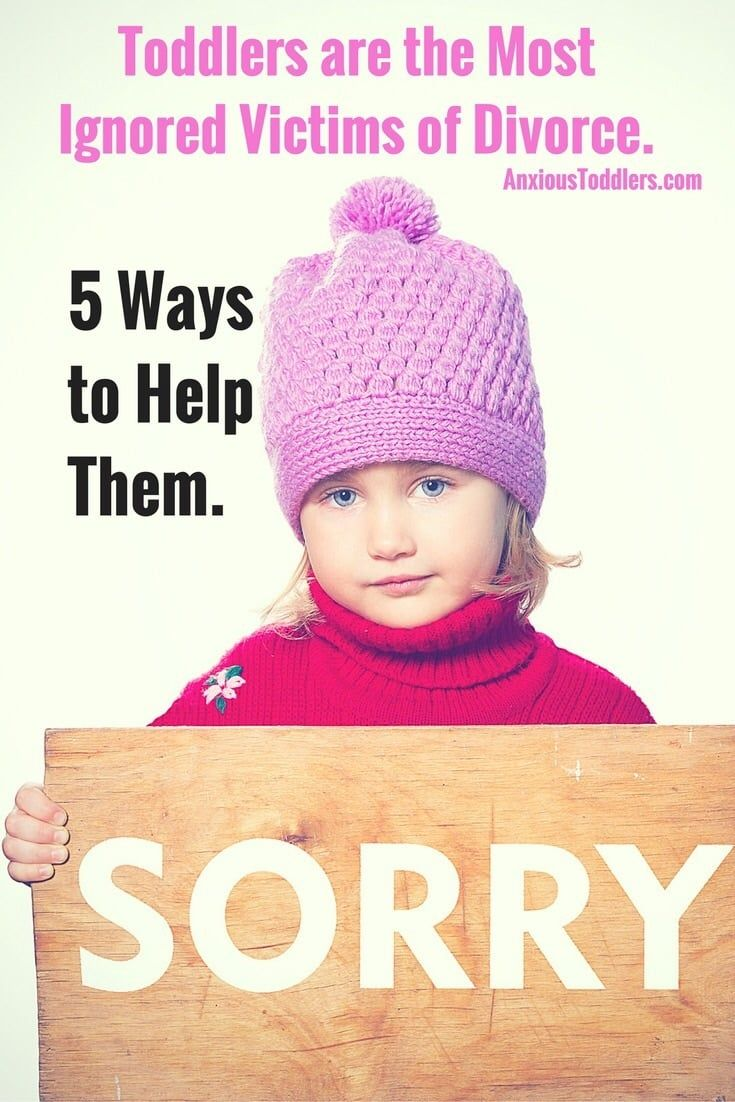 If you are going through a divorce with a toddler do not dismiss the affects the divorce has on your toddler. Learn 5 easy steps to better prepare your toddler for the changes divorce may bring.