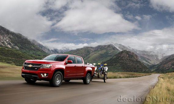 Пикап Chevrolet Colorado 2015 / Шевроле Колорадо