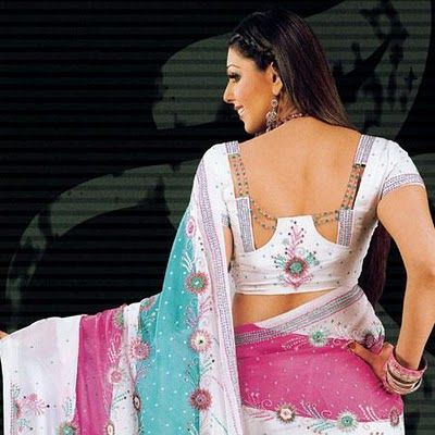Latest Fashion: Latest Saree Blouse back Patterns and original Blouse back designs