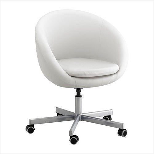 Bürostuhl ikea  Ikea Bürostuhl Weiß | Bürostühle | Ikea bürostuhl, Ikea stuhl und Ikea