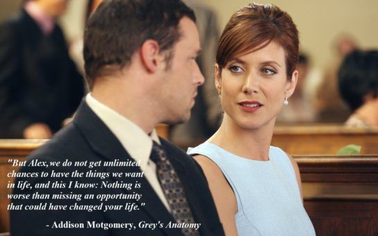12 LIFE LESSONS FROM SHONDALAND | Blog post | Addison Montgomery, Grey's Anatomy