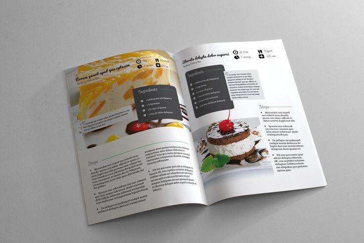 Recipe Book Template – 6x9in