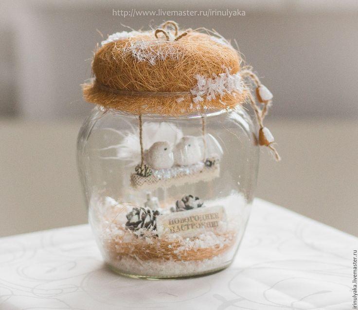 Купить Зима в банке. Объем 1,5 литра! - белый, подарок на новый год, оригинальный подарок