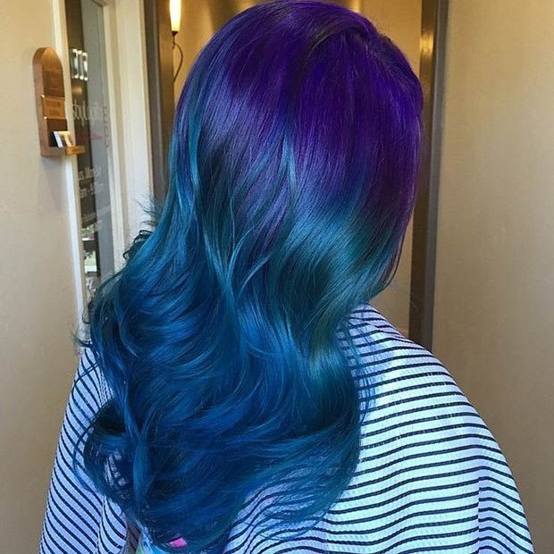 25 Best Ideas About Blue Purple Bedroom On Pinterest: 17 Best Ideas About Blue Hair Colors On Pinterest