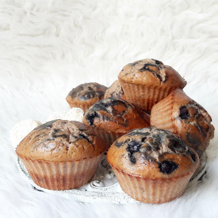 Muffiny śniadaniowe z borówkami – Tetiisheri