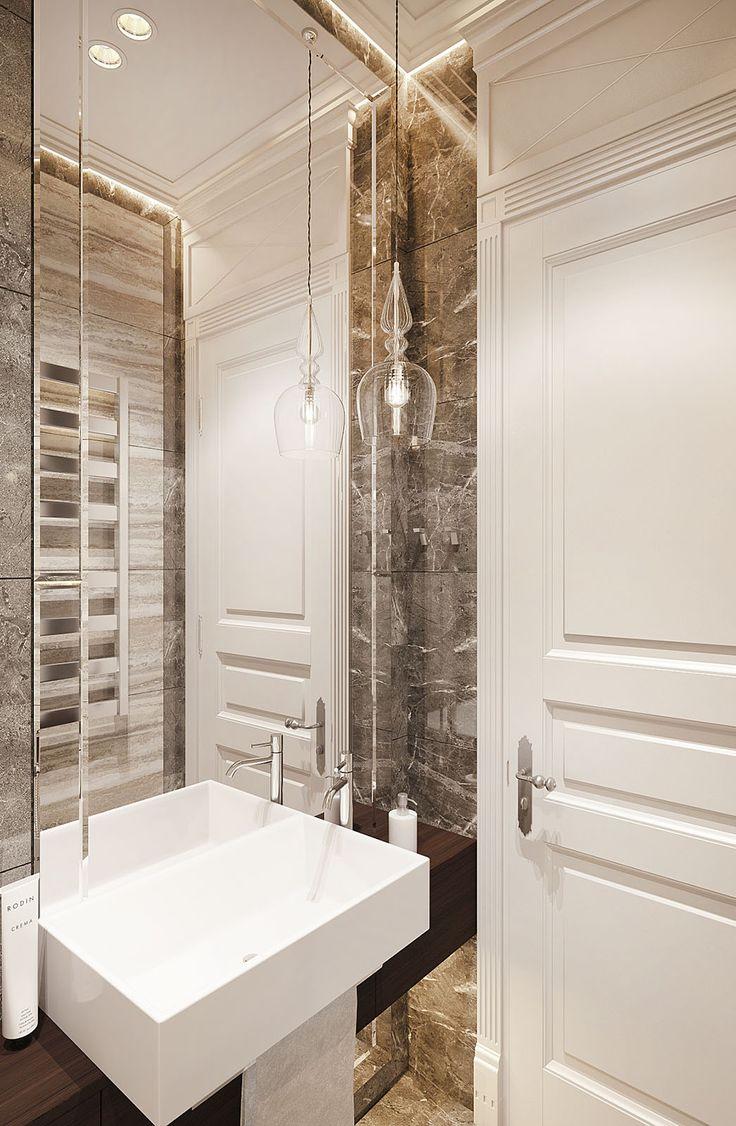 Дизайн апартаментов ЖК Balchug Residence. Прачечная. Вид 3  #аркси #arxy #дизайнинтерьера #элитныйинтерьер #дизайнквартиры