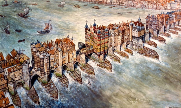 Old London Bridge C16