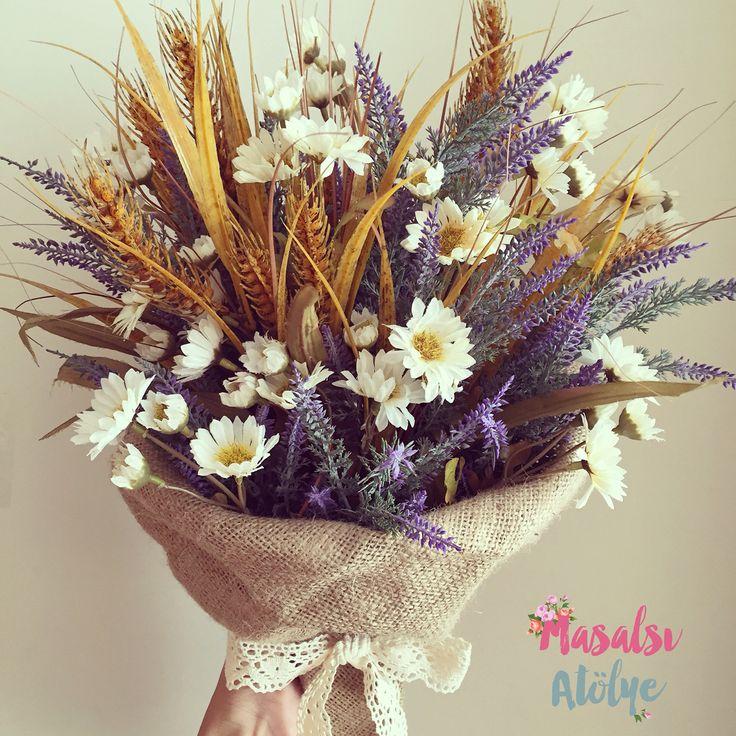 Gelin buketi / Bridal Bouquet #masalsiatolye #gelinbuketi  #bouquet www.masalsiatolye.com