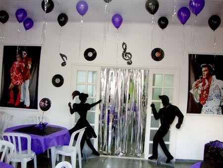 Decoração Para Festa Anos 60 - Sugestões, Dicas e Fotos