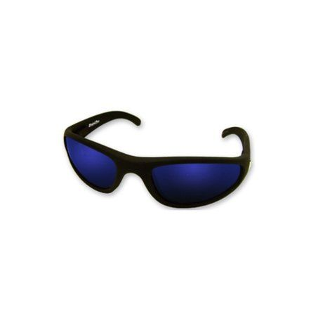Bimini Bay Polarized Glasses Black Blue Smoke Mirror Lens Sunglasses RB-4381SB