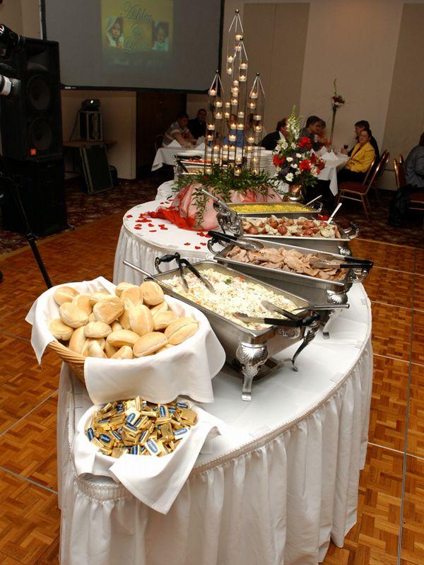 How to set the wedding buffet weddingelation my dream for Best food for wedding reception
