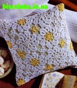 crochelinhasagulhas: Almofada de crochê