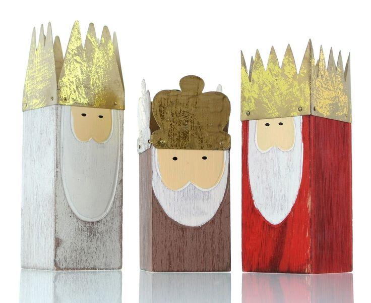 Heilige 3 Könige, 3er Set jetzt für 8,50 € kaufen im Frank Flechtwaren und Deko Online Shop