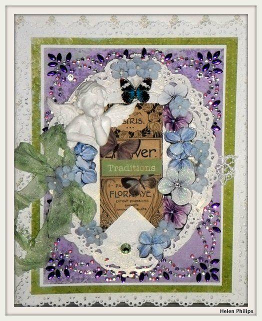 Philocarty: Bo Bunny Traditions Card