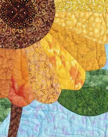 baggy.detail.2.lg.o.jpg - 27137 Bytes  Sunflower Quilt
