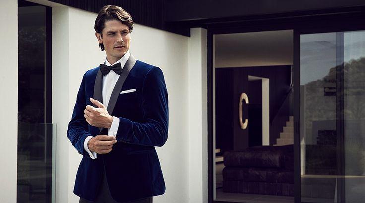 Bryan Jacket BN54/75, Avalon shirt SV72/01, Astor trouser BN96/99, Bow tie BWT10-99 https://shop.rembrandt.co.nz/