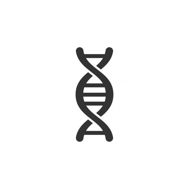 Dna Icon Graphic Design Template Vector Vector And Png Dna Logo Graphic Design Templates Dna Drawing