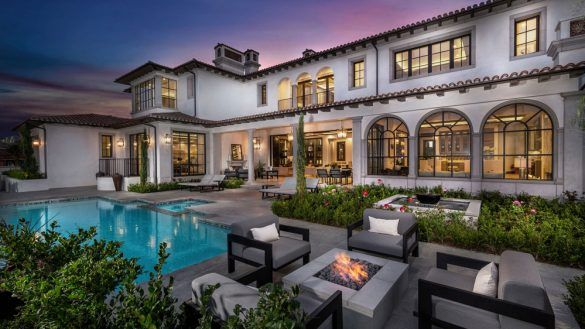 Awesome Home Design Sophisticated Modern Mediterranean House Mansion In Newport Coast California Robb Mediterranean Mansion Mansions Mediterranean Style Homes