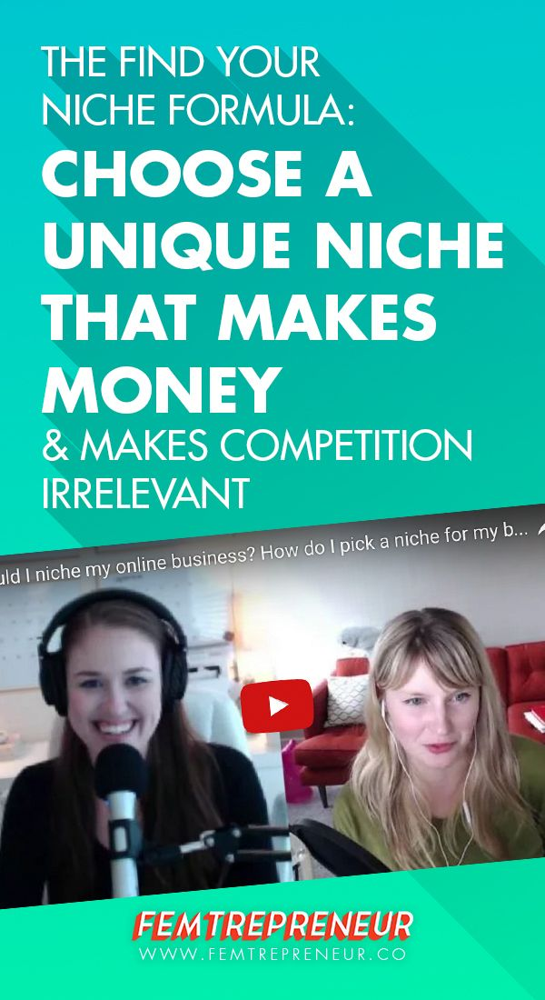 """Ready to make money and make your competition irrelevant? In this blog post, Mariah Coz and Megan Minns discuss the Find Your Niche Formula. Using this formula, you'll be able to choose a unique niche that helps you stand out instantly! They're answering the question """"Should I niche down my online business idea, How do I pick a niche for my online business? Is it too broad, too narrow?"""" Watch the video and get your FREE Find Your Niche Formula workbook here…"""