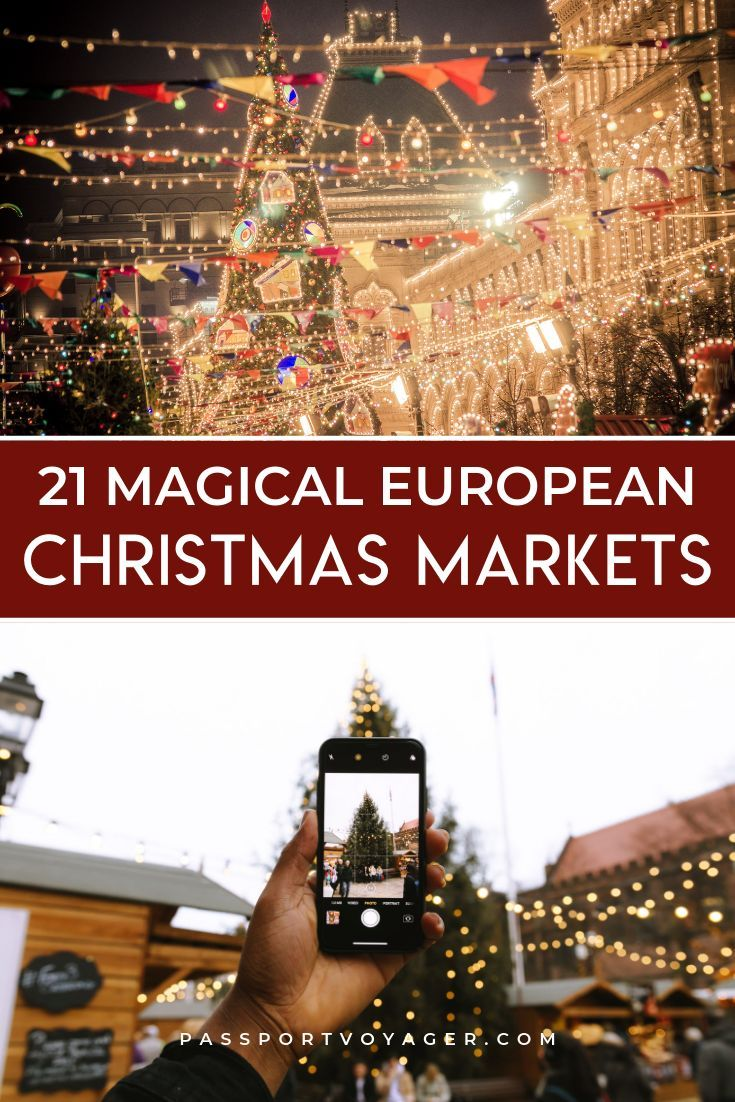 The Ultimate Europe Christkindlmarket Bucket List Passport Voyager Christmas Markets Europe Christmas In Europe Christmas Travel