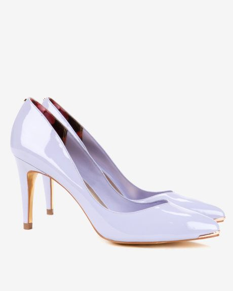 Pointed court shoes - Light Purple | Shoes | Ted Baker