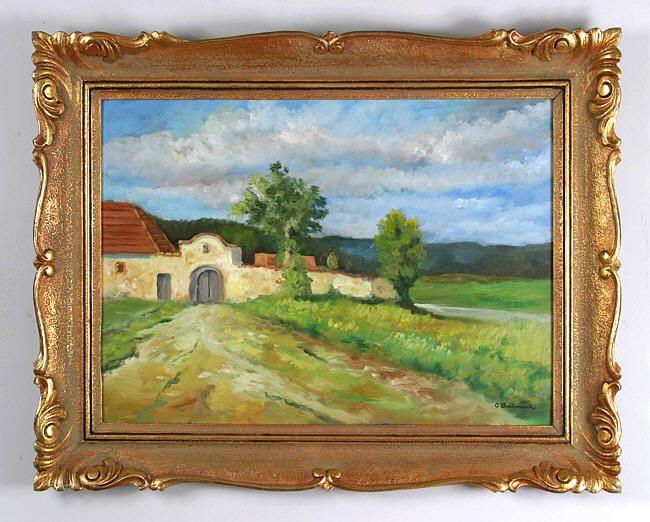 OTA BUBENÍČEK (1871-1962) Summer landscape