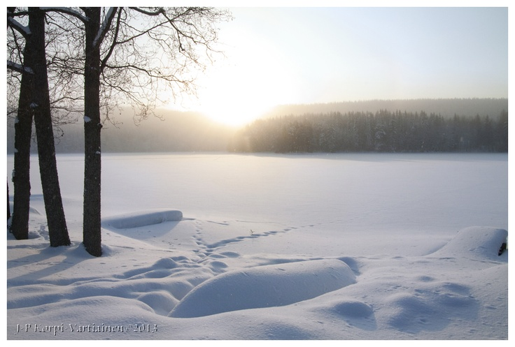 Winter paradise - Kuopio, Finland. Photo by J-P Korpi-Vartiainen.