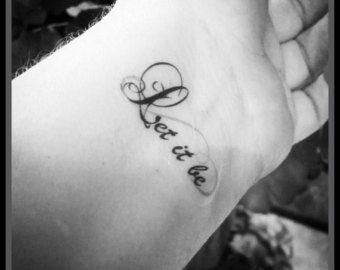 Foi religieuse tatouage tatouage temporaire par SharonHArtDesigns