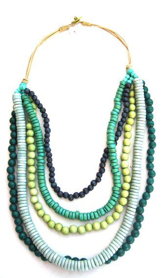 Seascape necklace