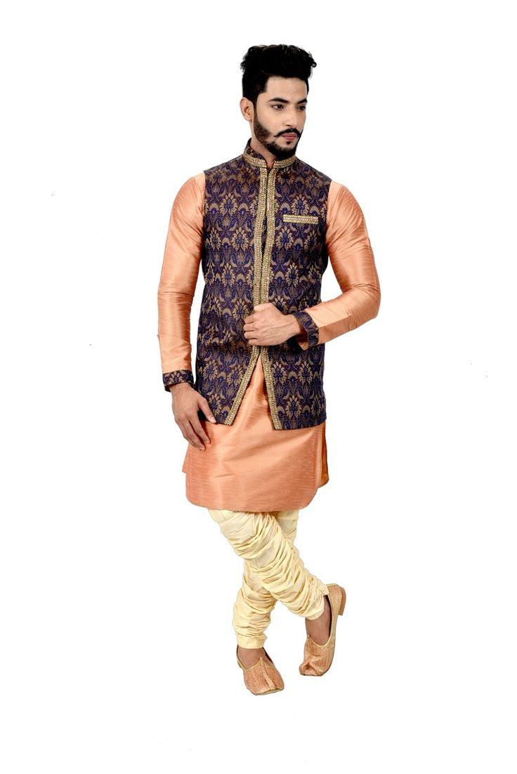 Buy Mens Kurta with Jacket online at affordable price. Visit bodylinestore.com and get your apparel on your doorstep. Bodyline provide speedy delivery across the world.