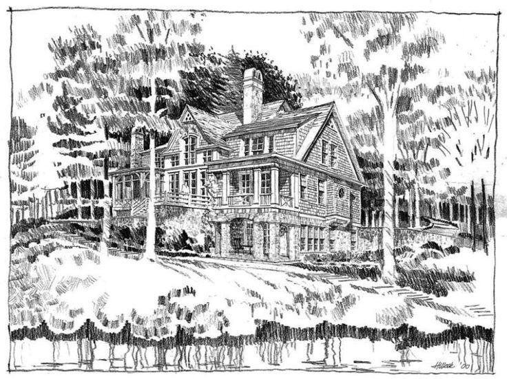Georgian Bay Cottage  House Plan
