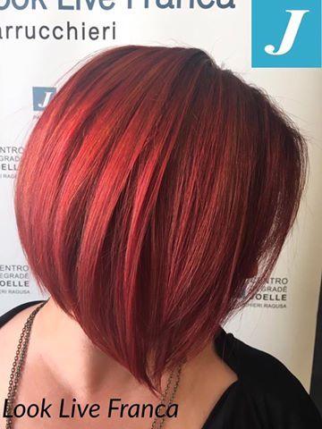 degradè joelle ..red .... sfumature eleganti e passionali