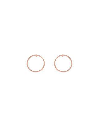 Simple Circle Stud Earrings