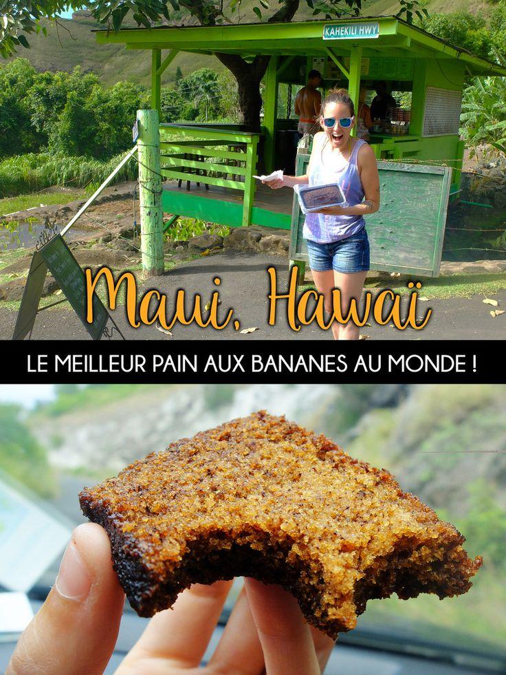#Maui #Hawaï #Banana #Island #travel #backpack #roadtrip