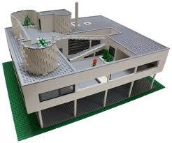 le corbusier in legos