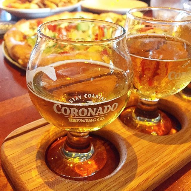 A visit to San Diego means a visit to Coronado Island and a visit to Coronado Island means a visit to Coronado Brewing Company! 🍺👍🍻#craftbeerlovers #staycoastal #sandiego #sandiegoconnection #sdlocals #sandiegolocals - posted by Brandie 🍴Recipe & Food Blogger https://www.instagram.com/homecookingmemories. See more San Diego Beer at http://sdconnection.com