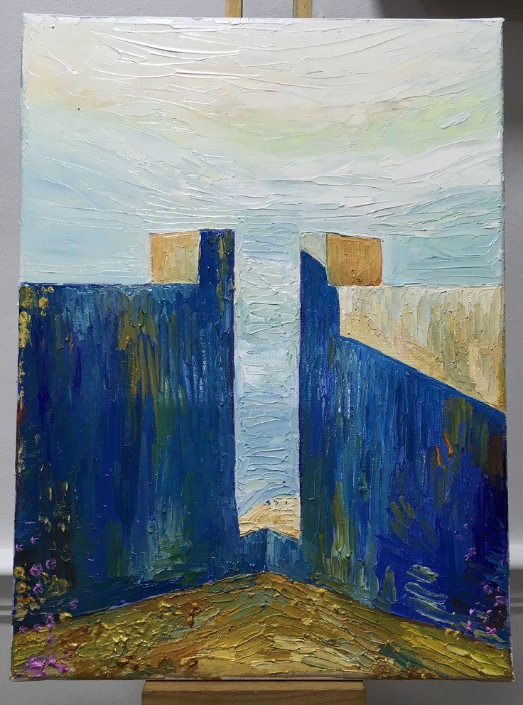Paintings palleteknife