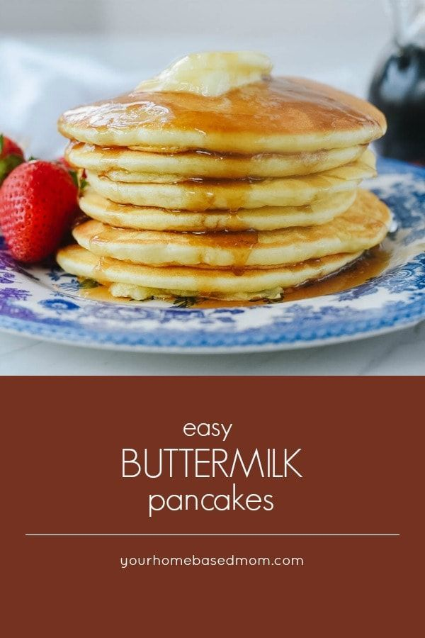 Fluffy Buttermilk Pancakes Are A Recipe That Everyone Needs In Their Cooking Repertoi Buttermilk Pancakes Easy Homemade Buttermilk Pancakes Homemade Buttermilk