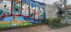 Greetings From Austin Mural | 1720 S 1st St, Austin, TX 78704