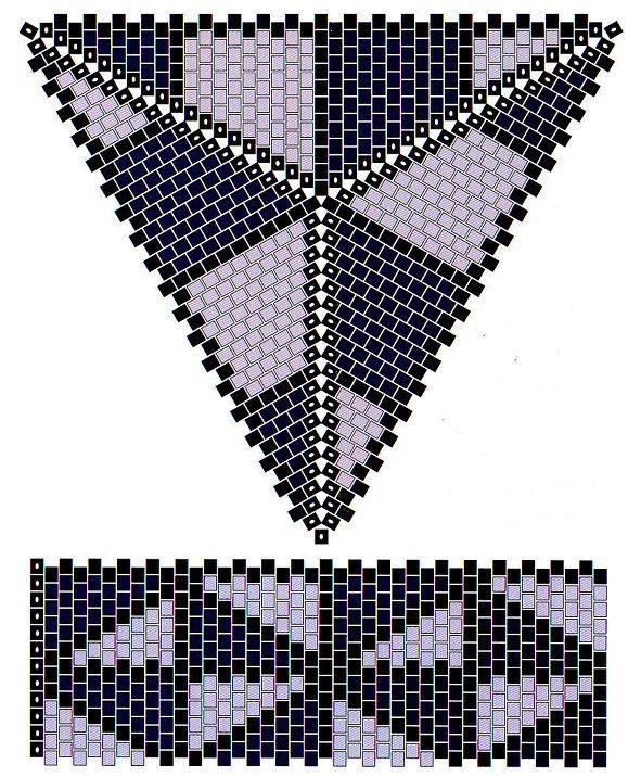 triangle box bottom panel