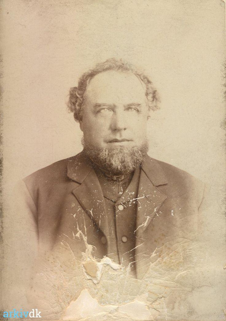 arkiv.dk | Portræt af Ove Hendrik Jensen Røn, ca.1890