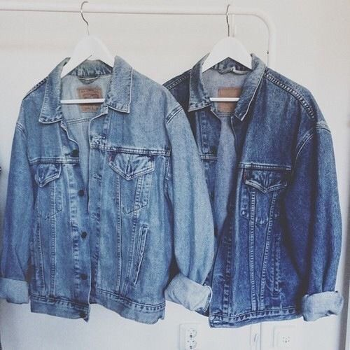 Denim jackets. Perfect for fall. Fall fashion.