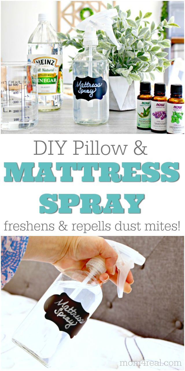 DIY Mattress Spray That Repels Dust Mites and Freshens Too